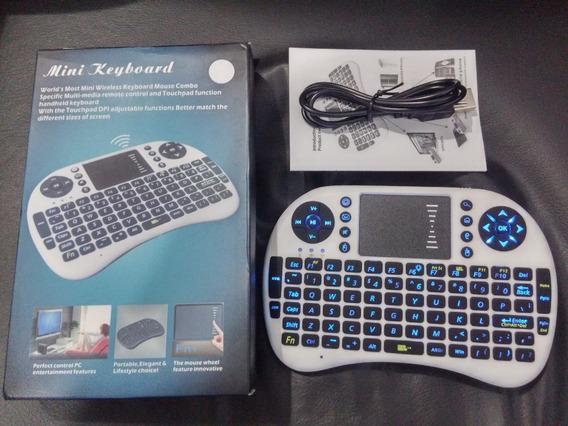 Mini Teclado Sem Fio 2.4g Touchpad Pc Pad Android Tv Box