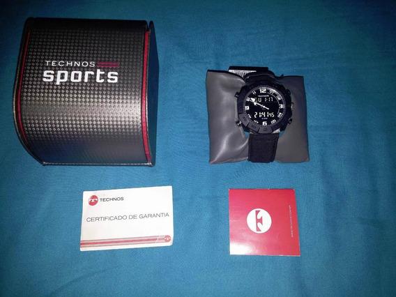 Relógio Technos Sports Digiana 30271b/9p Na Caixa