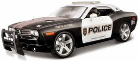 Miniatura Dodge Challenger Concept Police 2006 Maisto 1/18