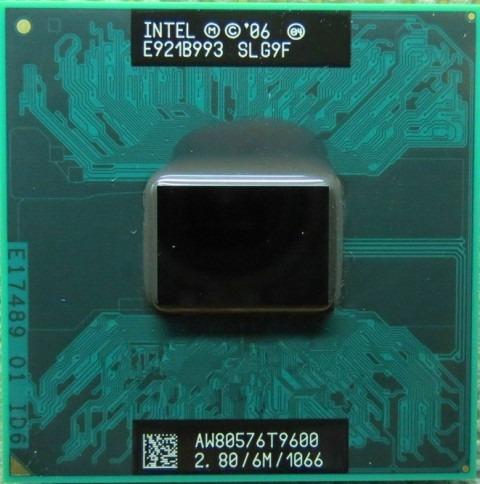 Processador Intel Core 2 Duo T9600 Cache 6mb 2.8ghz Laptop