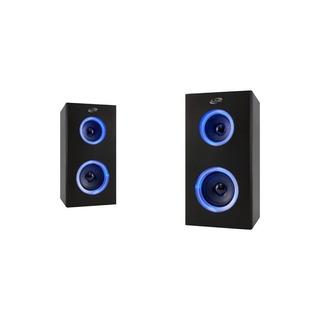 Ilive - Altavoces Portátiles Bluetooth (par) - Negro