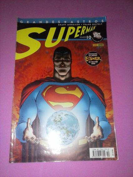Hq Grandes Astros Superman Numero 10 Super Homem Dc Panini