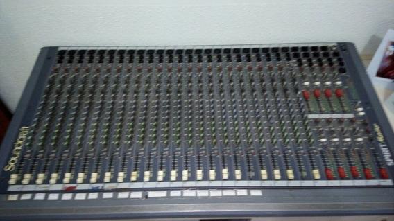 Urgente Mesa Soundcraft 24 Canais Spirit Monitor