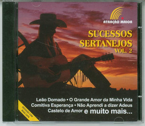 Cd Sucessos Sertanejos Vol.2