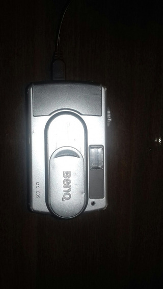 Câmera Fotográfica Benq Mod: Dc C35 No Estado Ligando