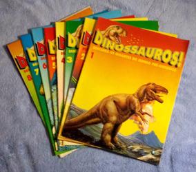 Coleção Revistas Dinossauros! Nº 1 Ao 8 Anos 90