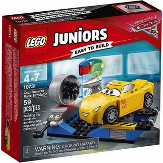 Lego Juniors 10731 Cars 3 :simulador Carrera De Cruz Ramirez