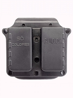 Porta Carregador Duplo Glock/imbel- Polímero