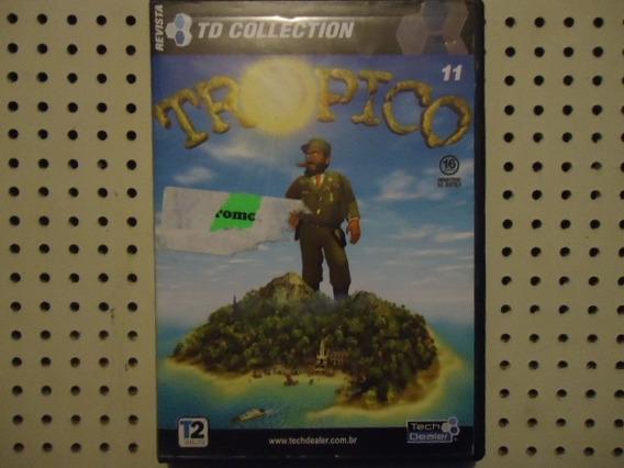Jogo Para Pc Cd-rom Tropico 11