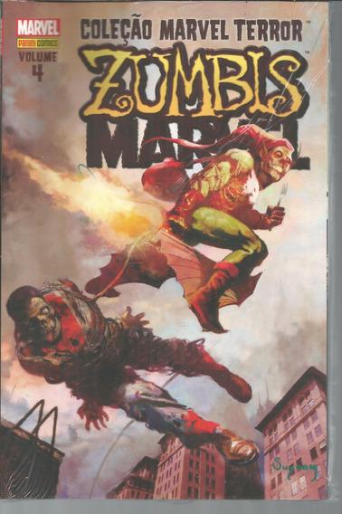 Lote Colecao Marvel Terror Zumbis 1 Ao 4 Bonellihq Cx448 H18