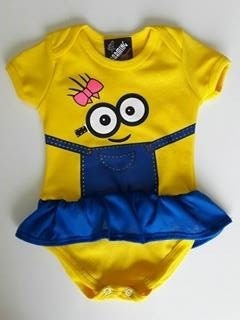 a80d0db66 Kit 10 Und Body Bodies Minions Menina Infantil Bebê Barato - R$ 133,00 em  Mercado Livre