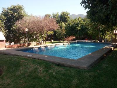 Casa Olmué Central,soleada Con Grandes Jardines