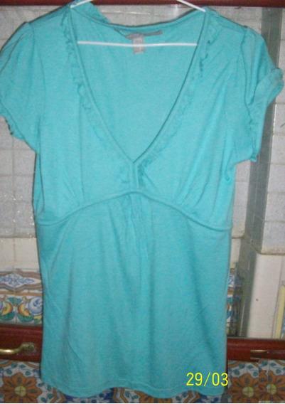 Remera Verde. Talle 3 - Large (marca Zara)