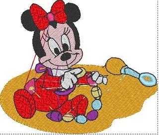 Matriz De Bordado Computadorizado Coleção Baby Disney Lindos