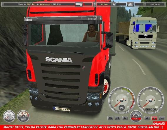 Patch Mods Brasil Estradas , Caminhão 18 Wheels Haulin