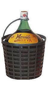Vino Damajuana Moscato Crotta