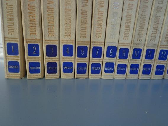 Enciclopédia Novo Tesouro Da Juventude 18 Volumes Ano 1972