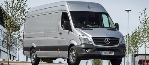Imagem 1 de 2 de Mercedes Sprinter 2014 Sucata Para Retirada De Peças