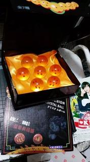 Caja Estuche 4 Cms Esferas Bandai Dragon Ball Goku