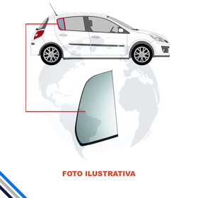 Vidro Oculo Fixo Porta Traseira  Direito  Gm Astra