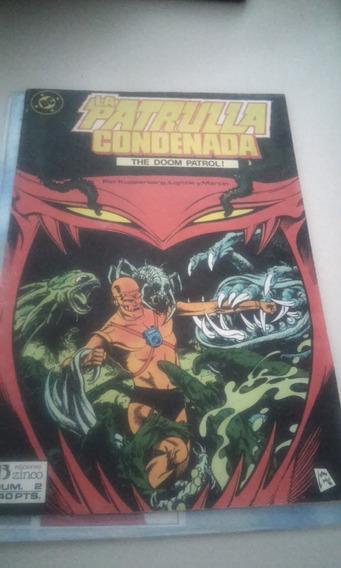Comics Español De Coleccion Dc La Patrulla Condenada No.2