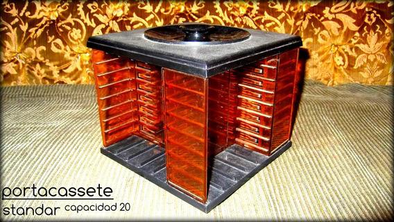 Vendo Portacassette Sencillo Usado Para 20 Casetes