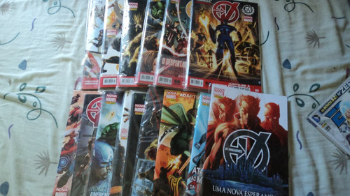 Imagem 1 de 4 de Vingadores Novo Marvel 1 Ao 35