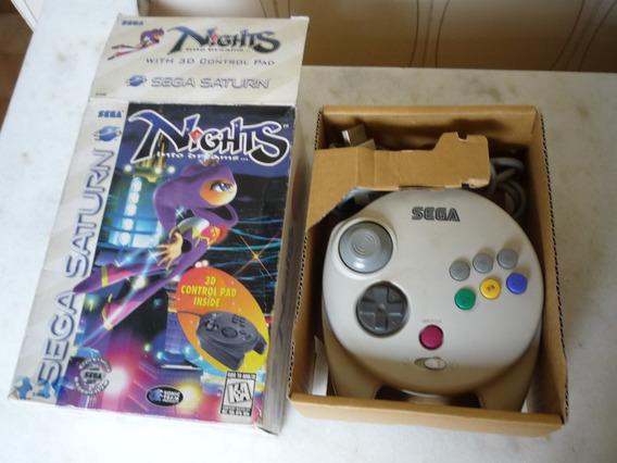 3d Control Pad Nights Para Saturno Na Caixa!