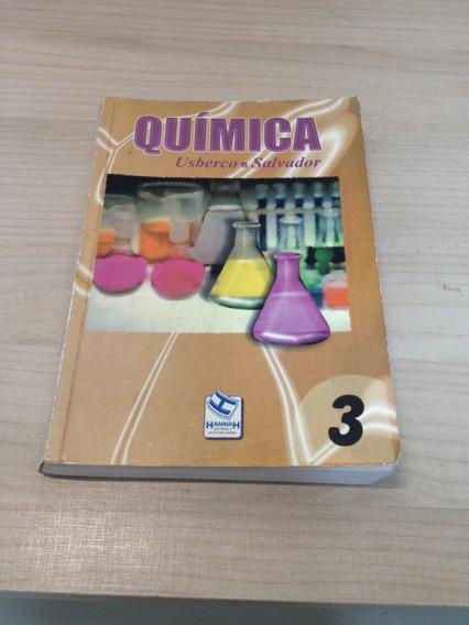 Livro Quimica 3 Usberco Salvador Frete Grátis