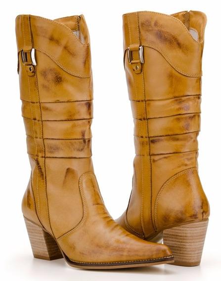 Bota Montaria Feminina Country Texana Capelli Boots