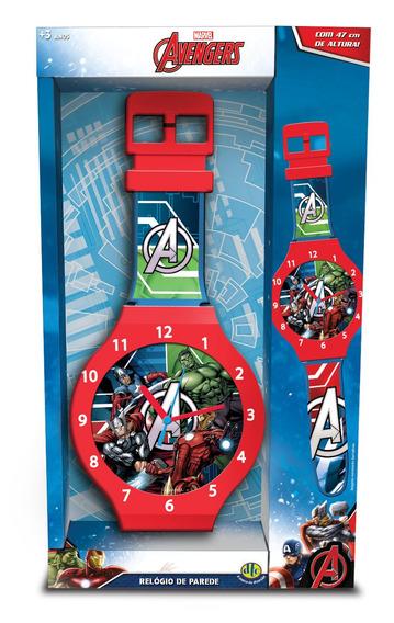 Relógio De Parede Avengers 47cms Dtc Mod 1