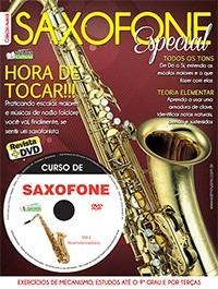 Método Saxofone Segunda Edição Dvd + Revista