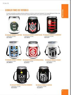 Cooler Térmico Com Design Diferenciado De Times De Futebol.
