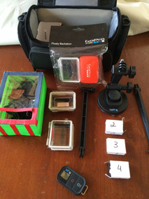 Gopro Hero 3 Black Edition + Lcd Touch + Acessórios - Top !