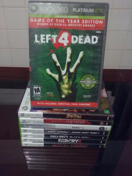 Left 4 Dead Mídia Física - Xbox 360 - Semi Novo