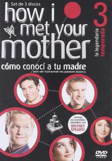 How I Met Your Mother Como Conoci Tu Madre Temporada 3 Dvd