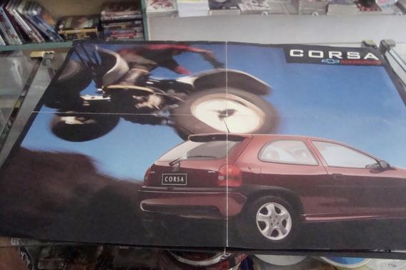 Poster Cartaz Foto Catalogo Chevrolet Corsa Acessorios