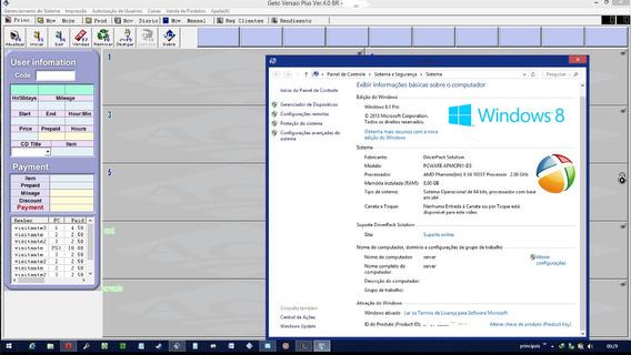 Geto Manager 32 E 64 Bits. Win7, 8, 10 Gerenciador Lanhouse