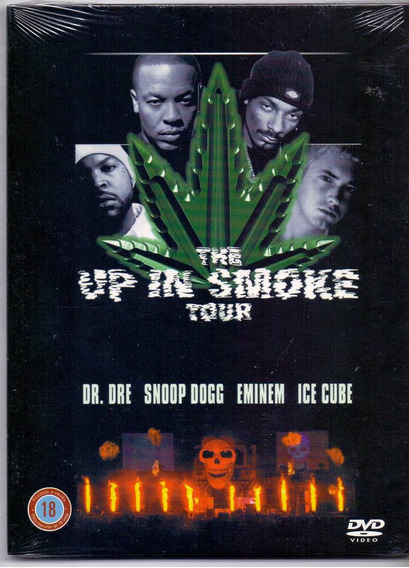 Dvd The Up In Smoke - Dr. Dre, Snoop Dog, Eminem, Ice Cube /