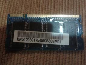 Notbook Acer Peça Memoria 512 Mb