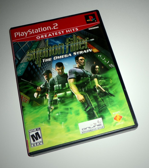 Syphon Filter: The Omega Strain Original Completo - Ps2