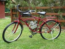 Bicimotos Bicicleta Playera Con Motor Motor 48 Cc 4976-2552