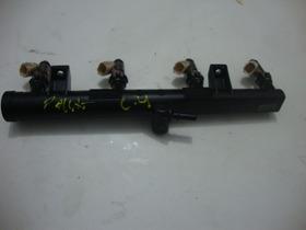 Flauta Com Bicos De Ingecao Usada Original Citroen C4 Pallas