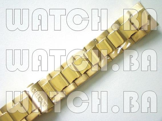Pulseira Dourada Orient Mgss1036 - Nova, Original!