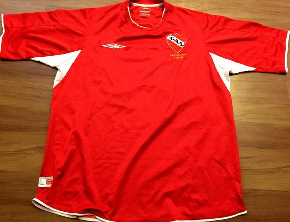 Camisa Independiente 2005 Centenário De Jogo Número 17