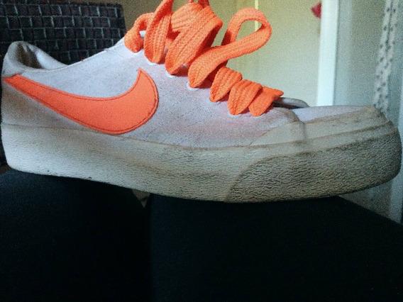 Zapatillas Nike Blancas Talle 38.5