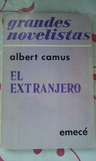 Albert Camus, El Estranjero