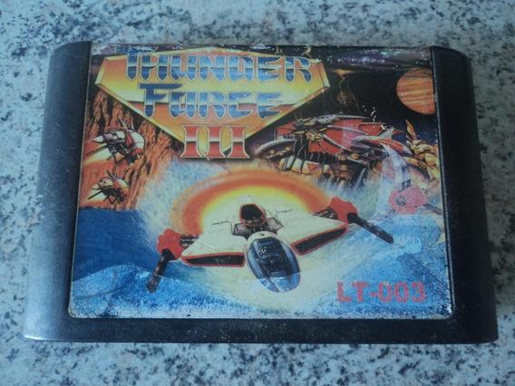 Fita Para Mega Drive Thunder Force 3