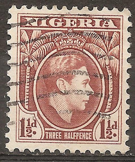 Nigeria Colonia Inglesa Yvert N°54 Año 1938