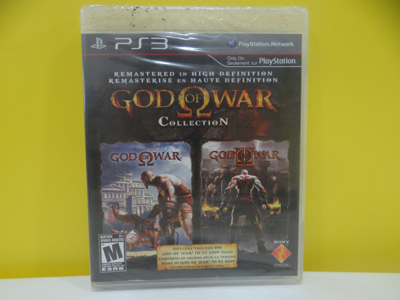 God Of War Collection - Ps3 - Completo!